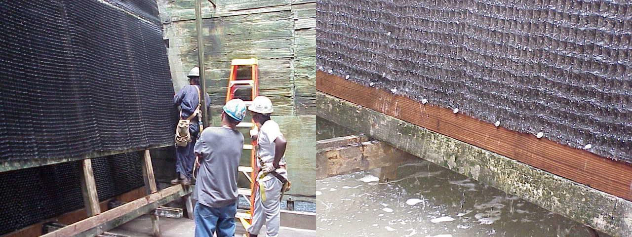 DRIFTOR® retrofit installation